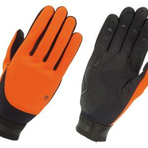 Agu handschoen fleece liner oranje xl