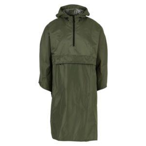 Agu poncho grant army green one size