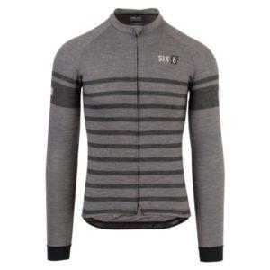 Agu Shirt Lm  Six6 Merino Black/Grey S