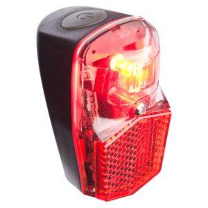 Axa Led Lamp Achterlicht Batterij Run Compact Spatbordmontage