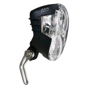 Axa Led Lamp Voorlicht Echo 30 Lux Steady On/Off/Auto (Naaf)Dynamo
