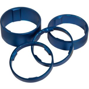CUBE HEADSET SPACER SET BLUE