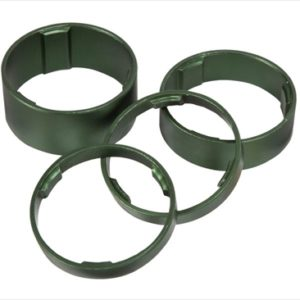 CUBE HEADSET SPACER SET GREEN