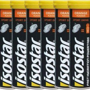 Isostar Powertabs Fast Hydration Orange 6x10 Tabletten