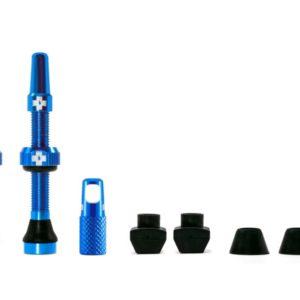 Muc-off tubeless valve kit universeel 44mm blue