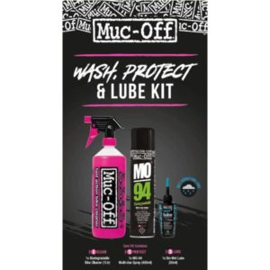 Muc-off clean protect & lube kit (wet lube version
