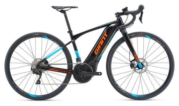 Road-E+ 2 Pro 25km/h XL Black/Orange