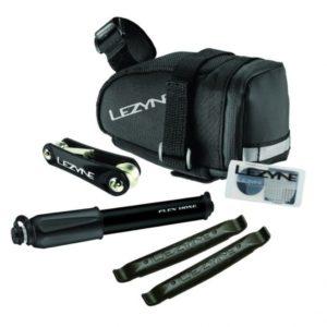 LEZYNE M-CADDY SPORT KIT BLK (BAG + PUMP + REPAIR)