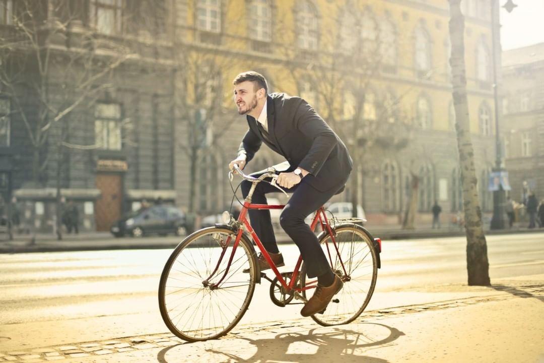 Social Distancing op de fiets!
