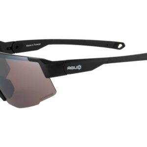 Agu bril grit half frame black incl transparant +