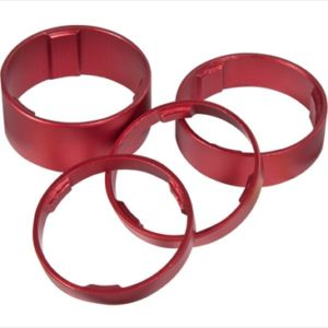 CUBE HEADSET SPACER SET RED