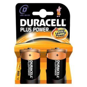 Duracell Batterij Plus Power Lr20 D (2)