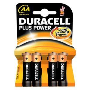 Duracell Batterij Plus Power Lr6 Aa (4)