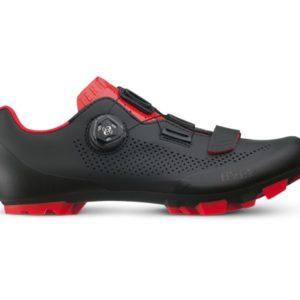 Fizik schoen x5 terra zwart / rood 43