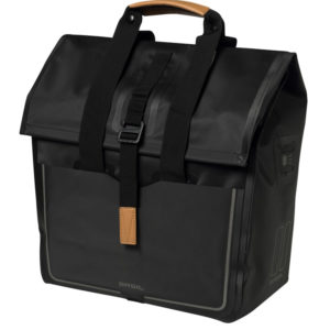 Basil shoppertas Urban dry matt black