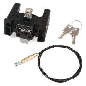 Mounting Set U6 With Lock black