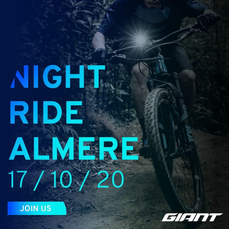 Night Ride van der Linde Almere oktober 2020