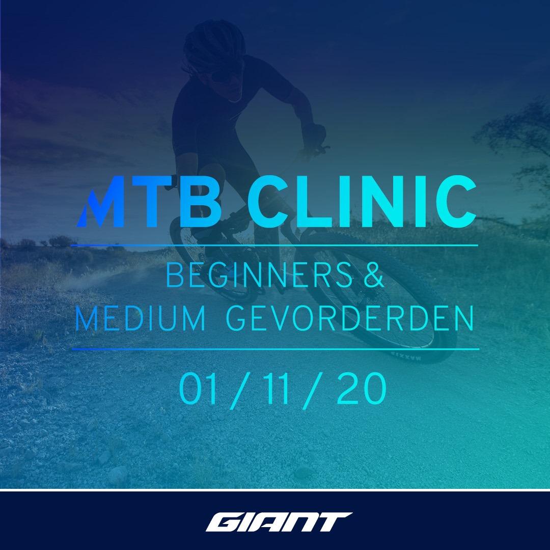MTB Clinic voor beginner in Almere
