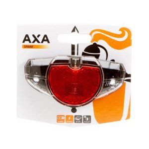 Axa achterlicht Spark batterij 50/80mm