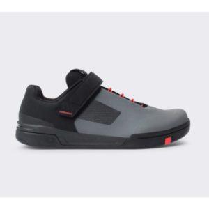 Crankbrothers schoen stamp speedlace grijs / rood