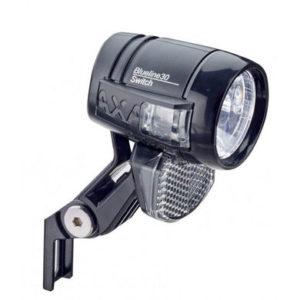 Axa koplamp Blueline switch aan/uit dynamo 30 lux
